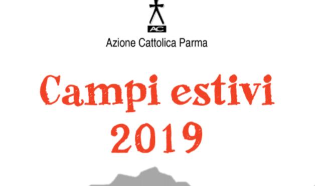 VOLANTINO E MODULO ISCRIZIONE CAMPI ESTIVI 2019